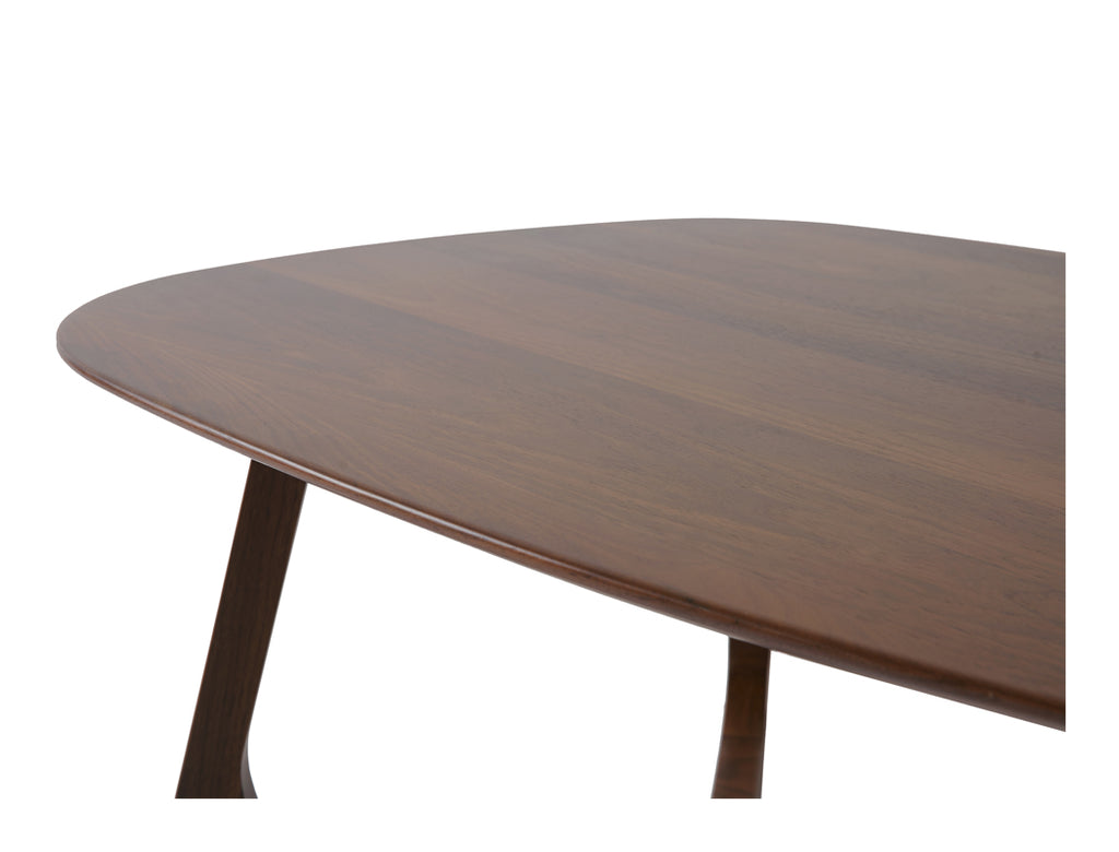 Aster Coffee Table - Solid Black Walnut