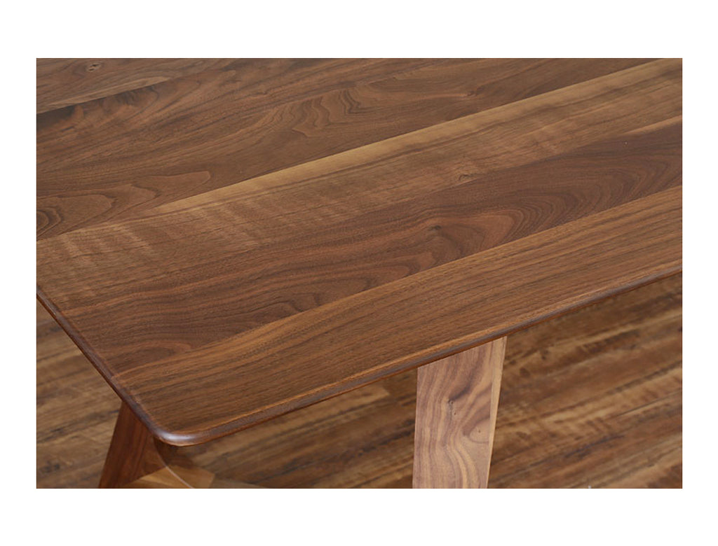 Aster Dining Table (180cm) - Solid Black Walnut