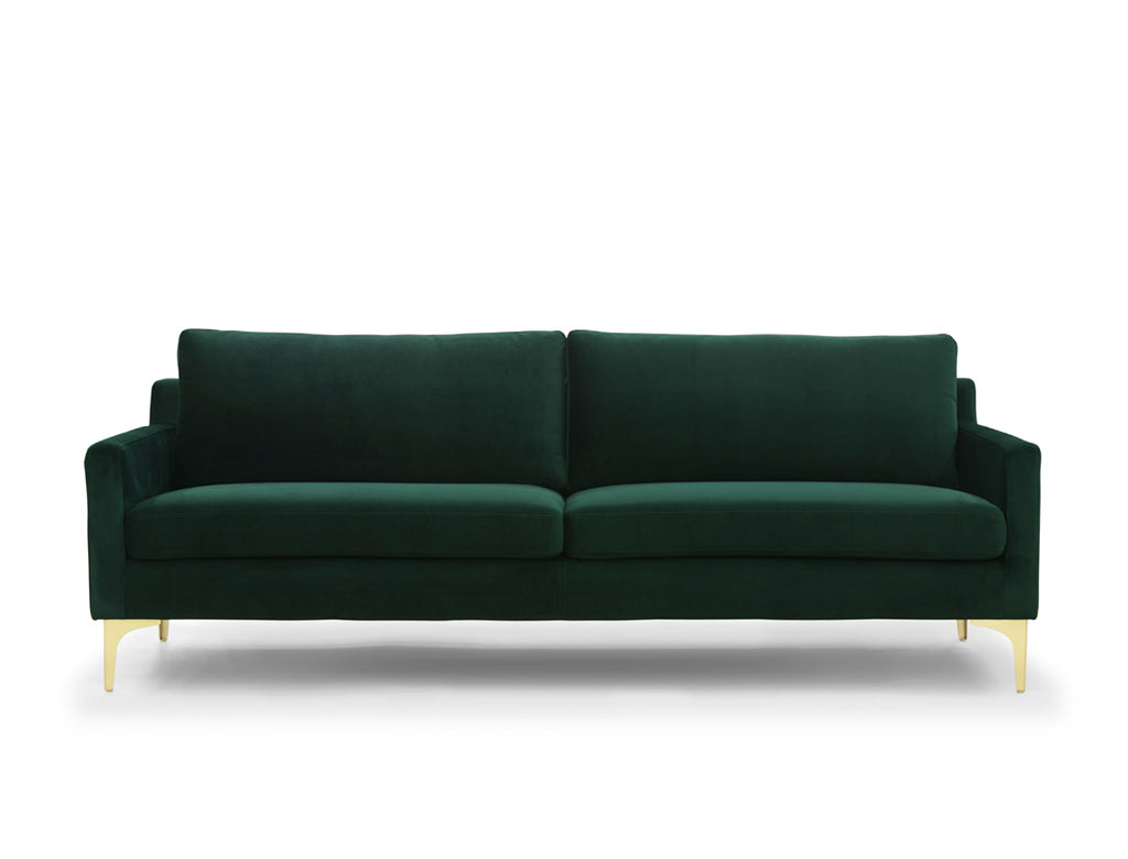[CLEARANCE] Aurora 3 Seater Sofa, Forest Green