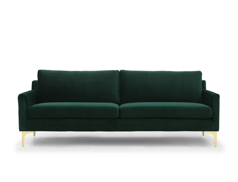 Aurora 3 Seater Sofa, Forest Green