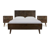Austin Queen Bed Frame with 2 Bedside Tables