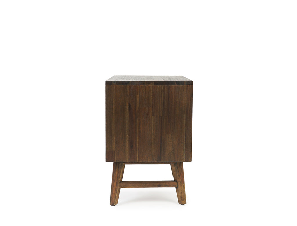 Austin Herringbone Bedside Table