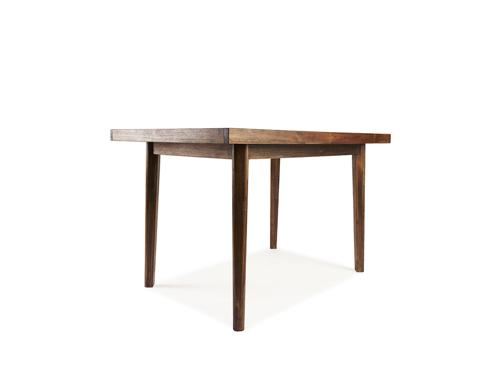 Austin Herringbone Dining Table (160cm) with 4 Zoey Chairs
