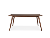 Axel Dining Table (160cm) with 4 Amber Chairs, Light Sand