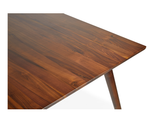 Axel Dining Table (160cm) - Solid Black Walnut