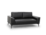 [CLEARANCE] Blake 2 Seater Leather Sofa, Black