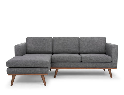 Brooklyn L-Shape Sofa (LHF), Granite