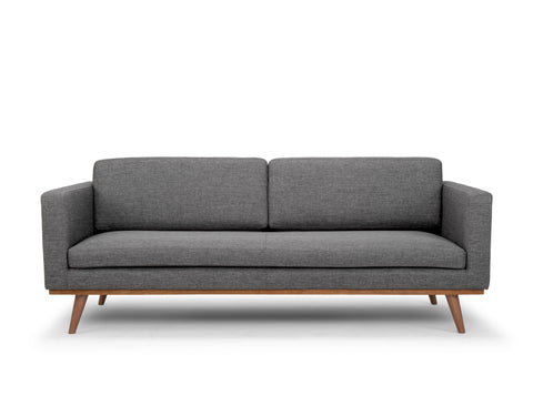Brooklyn 3 Seater Sofa, Granite