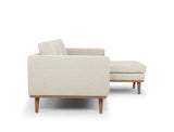 Brooklyn L-Shape Sofa (RHF), Natural