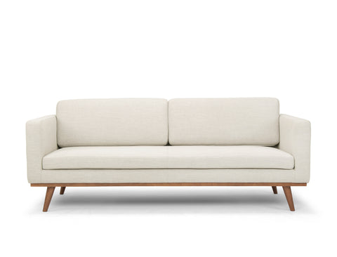 [CLEARANCE] Brooklyn 3 Seater Sofa, Natural