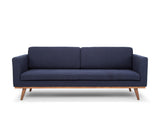 Brooklyn 3 Seater Sofa, Navy Blue