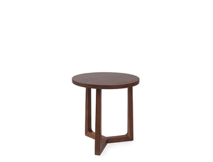 [CLEARANCE] Bruno Mid Side Table - Solid Black Walnut