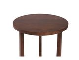 Bruno Mid Side Table - Solid Black Walnut