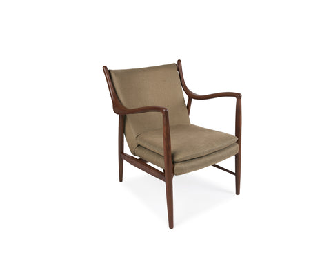Carina Lounge Chair, Olive