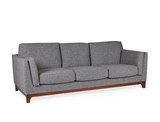 [CLEARANCE] Carter Sofa, Volcanic Grey