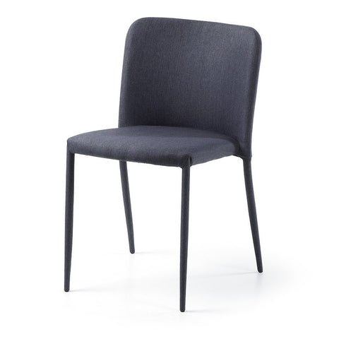 [CLEARANCE] Thea Chair, Dark Grey (Stackable)