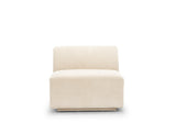 Emma Armless Sofa, Almond