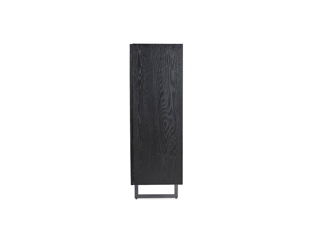 Etna Highboard, Black (Matt)