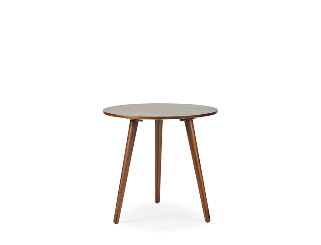 Eva Side Table - Solid Black Walnut