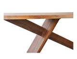 Giorgio Dining Table (180cm) - Solid Black Walnut