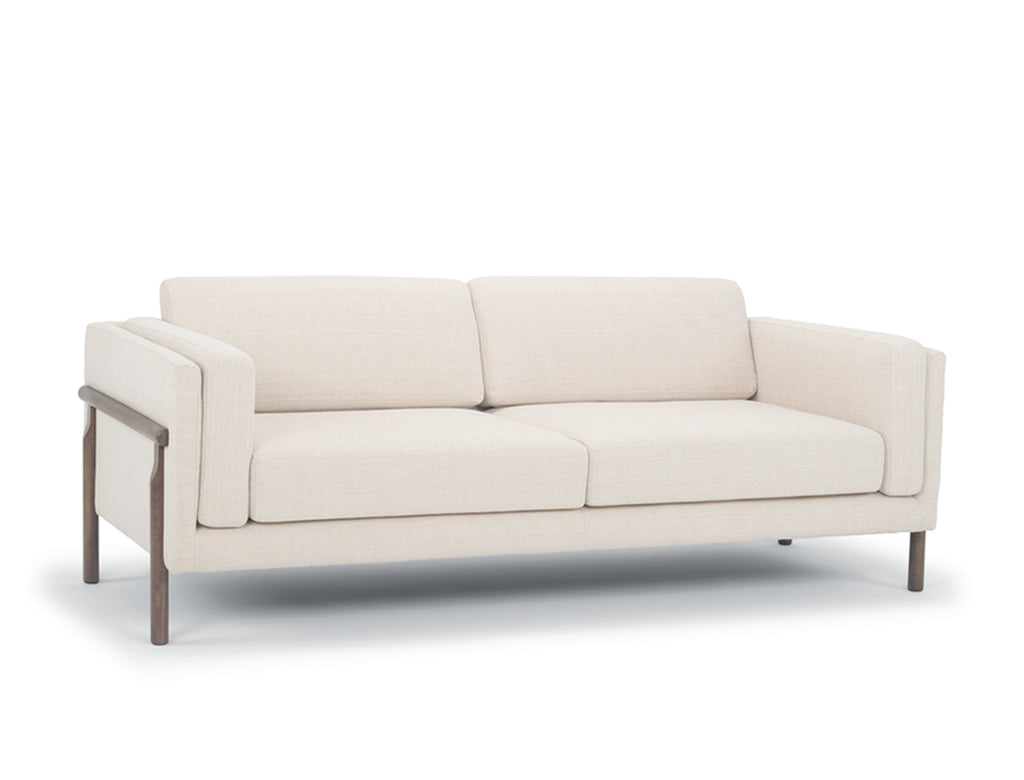 Hampton 3 Seater Sofa, White Quartz
