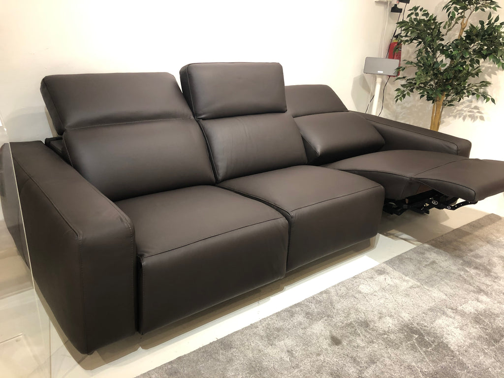 Dillon 156+103+155 Recliner Leather Sofa (Premium)