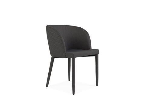 [CLEARANCE] Isabel Chair, Dark Grey