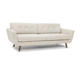 Jaxon 3 Seater Sofa with Owen Ottoman Set, Natural