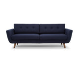 Jaxon 3 Seater Sofa, Navy Blue