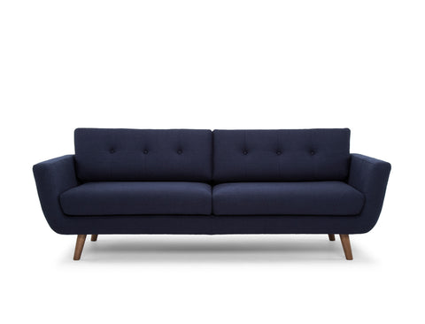 Jaxon Sofa, Navy Blue