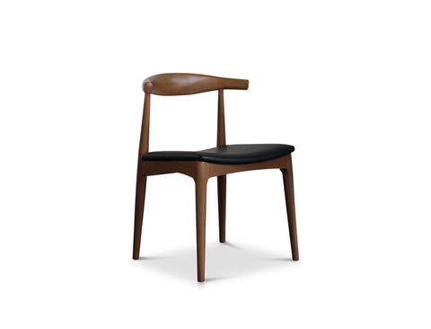 [CLEARANCE] Jefferson Chair, Walnut Brown
