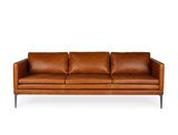 Julianne Leather Sofa (Premium)