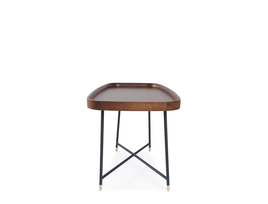 Marc Coffee Table - Solid Black Walnut