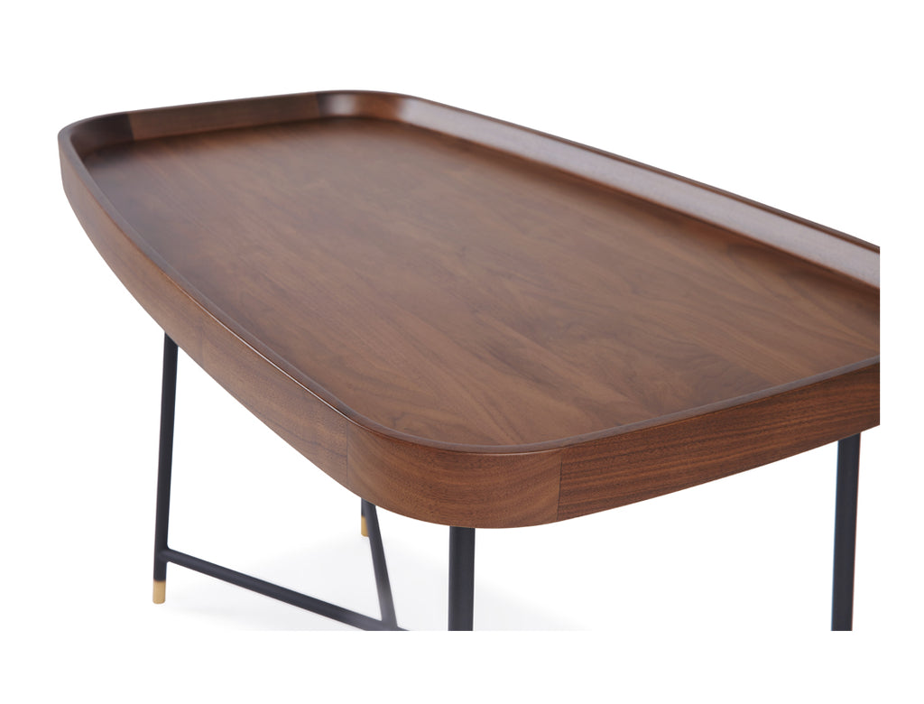 [CLEARANCE] Marc Coffee Table - Solid Black Walnut