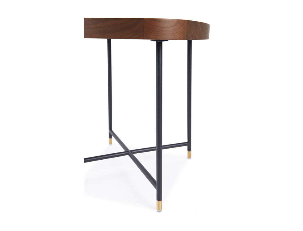 Marc Side Table - Solid Black Walnut
