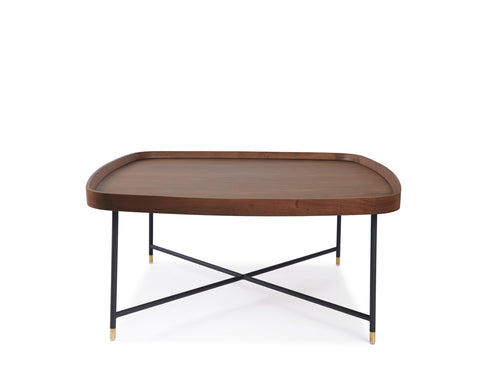 Marc Square Coffee Table - Solid Black Walnut