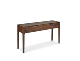Regent Console Table - Solid Black Walnut