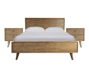 Roxanne King Bed Frame with 2 Bedside Tables