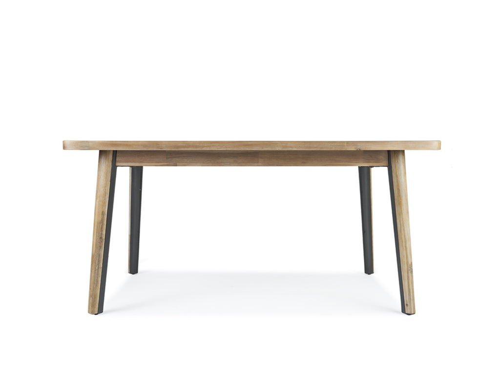 Roxanne Dining Table (160cm) with 4 Amber Chairs, Light Sand