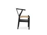 Wishbone Y Chair, Black