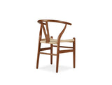 Wishbone Y Chair, Walnut Brown