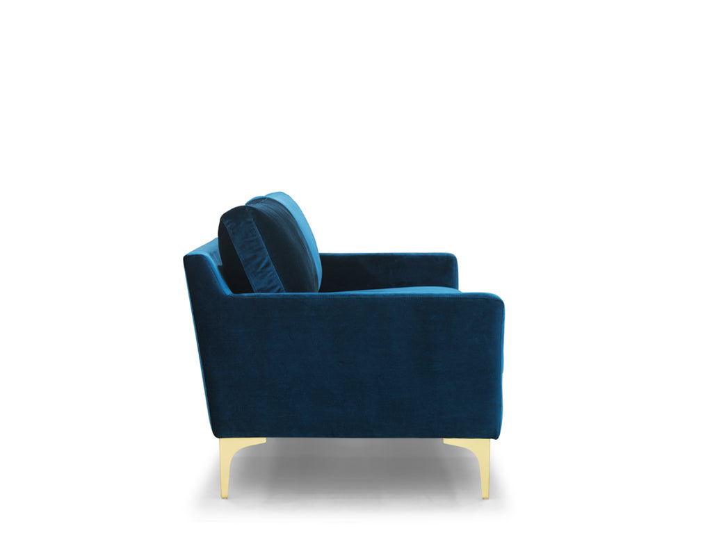 [CLEARANCE] Aurora 3 Seater Sofa, Cascadia Blue