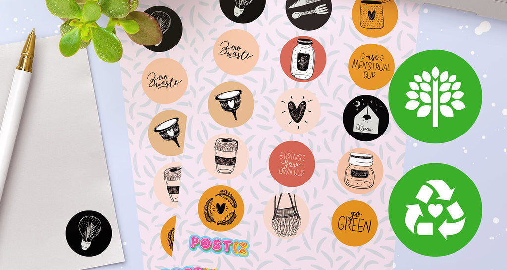 Discover our eco-friendly stickers
