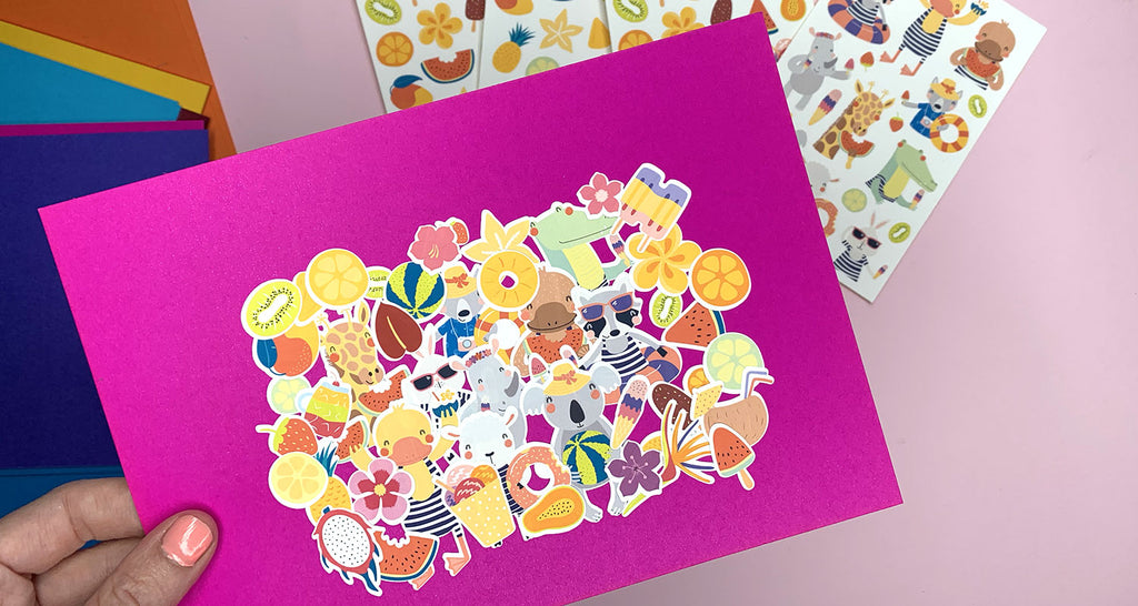 What is a sticker bomb?