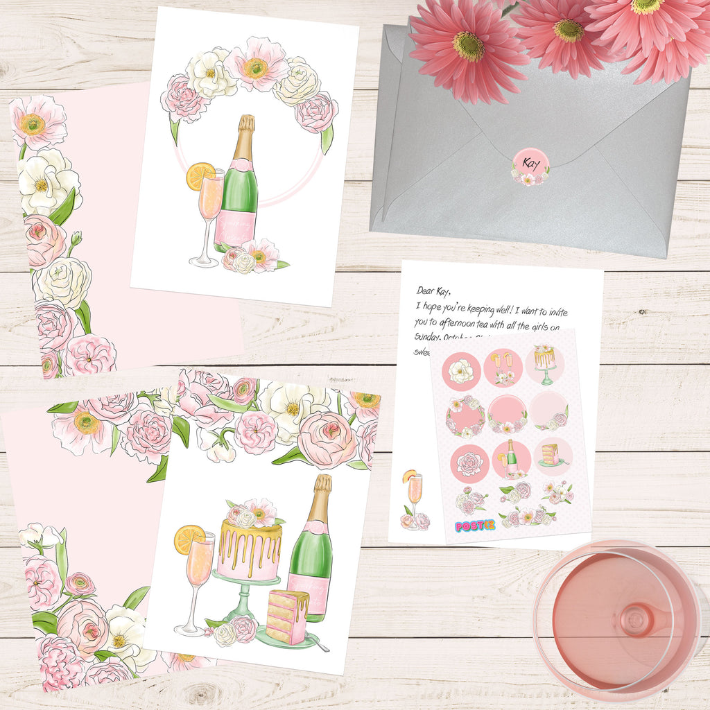 Bubbles n Blooms Eco-Friendly Writing Set