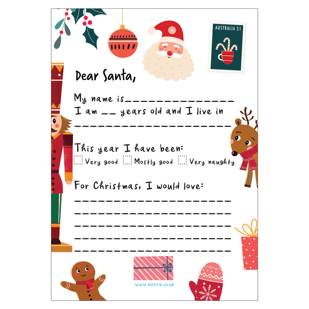 Dear Santa PDF Download