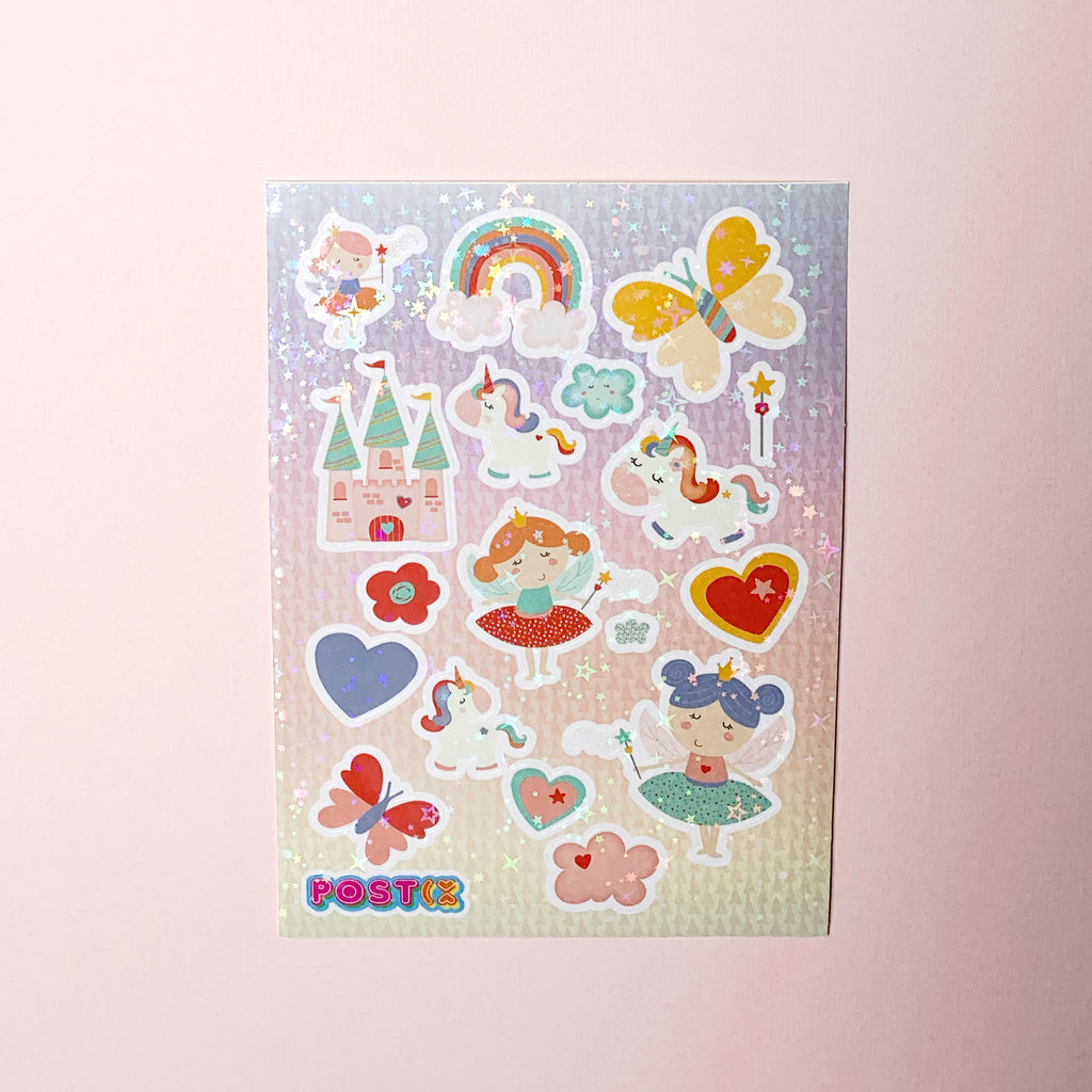 Fairy Dust Hologram A6 Sticker Sheet