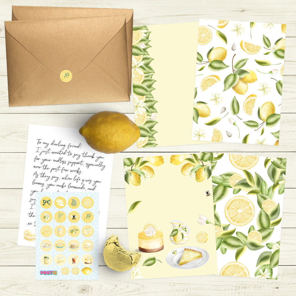 Lemon Appeal Eco-Friendly Writing Set