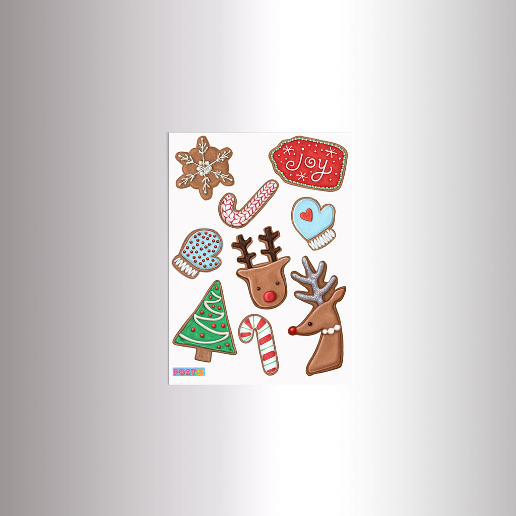 Christmas Cookies Sticker Sheet