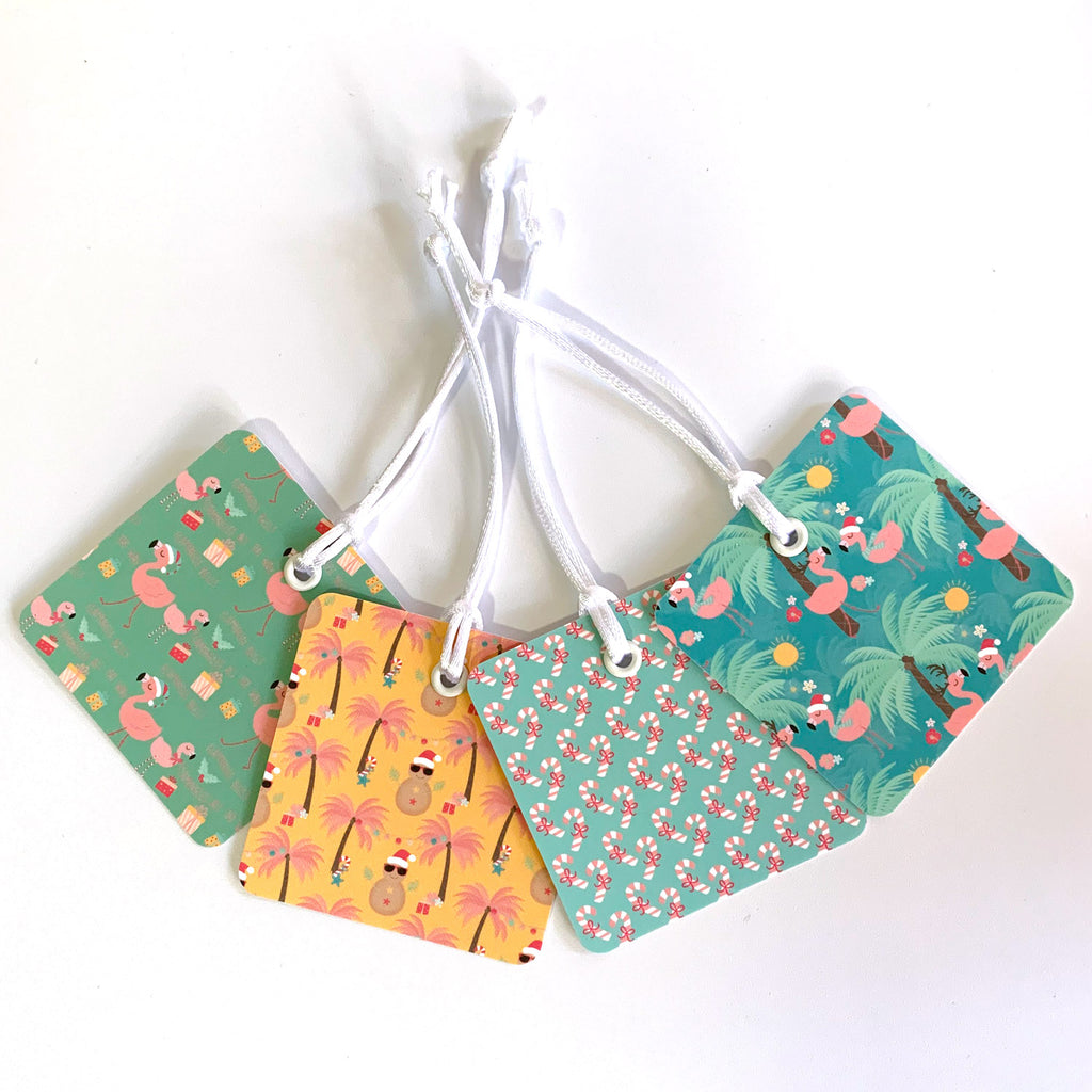 Summer Christmas Gift Tags